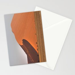 The red sand dunes of Sossusvlei desert, Namibia Stationery Cards