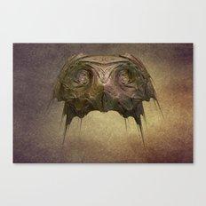 Owl Mask Canvas Print