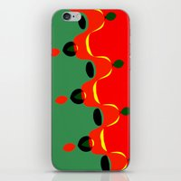 xmas iPhone & iPod Skins featuring xmas by Milenix Loerdi