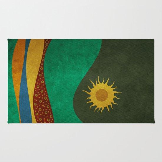 color under the sun (III) Rug