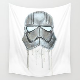 Captain Phasma - Empty Masks Wall Tapestry