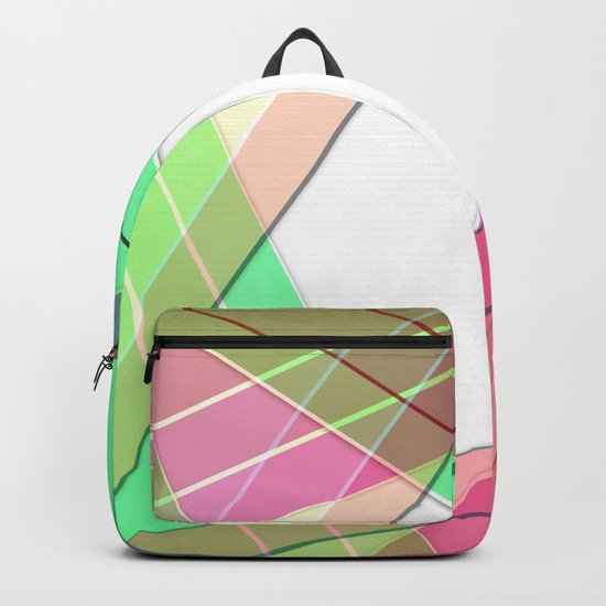 Silk ribbons 3 Backpack