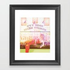 Medium Rare Framed Art Print
