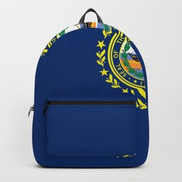 New Hampshire State Flag Backpack