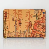 china iPad Cases featuring China  by Nogah