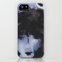 Abstract - Knowing Blue iPhone Case