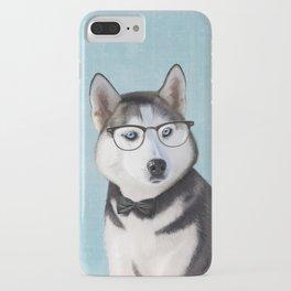 Mr Husky iPhone Case