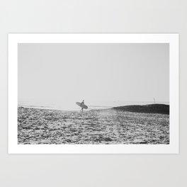 Surfer's Point Art Print