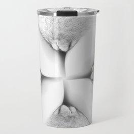 Abstract Vagina 2 Travel Mug