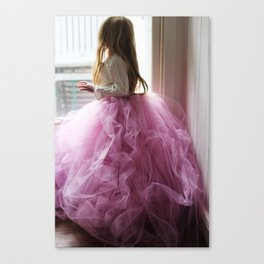 Tutu Magic Canvas Print