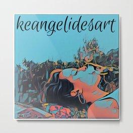 keangelidesart3 Metal Print