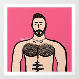 Beard Boy: Blas Art Print
