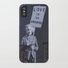 Love is the Answer Slim Case iPhone X