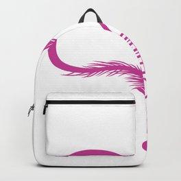 Gone Fishing Angel Hook Love Heart Hobby Gift Backpack