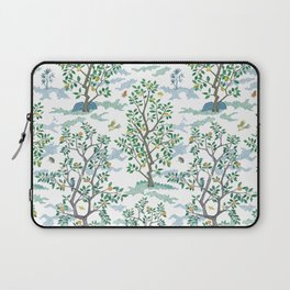 CitrusGrove Toile in White Laptop Sleeve