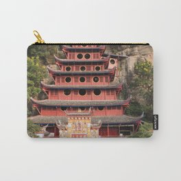 Shi Bao Zhai Buddhish temple Pagoda | Pagode Temple Buddhish Carry-All Pouch