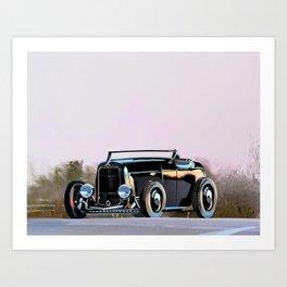 Hotrod Art Print