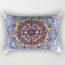 En Force Sri yantra Rectangular Pillow