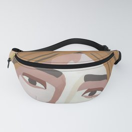 MAJE // Woman with Headwrap Fanny Pack