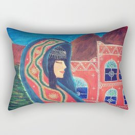 Balqees Alyemen Rectangular Pillow