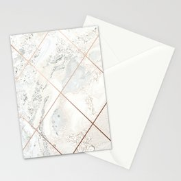 Copper & Marble 01 Stationery Cards