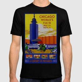 Vintage Chicago World's Fair 1933 T-shirt