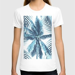 South Pacific palms II - oceanic T-shirt