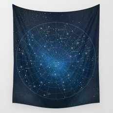 Constellation Star Map Wall Tapestry