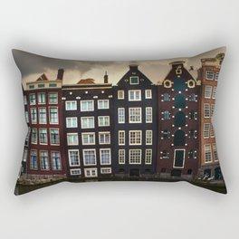 Postcards from Amsterdam Rectangular Pillow