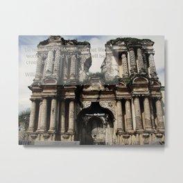 Guatemalan ruins Metal Print