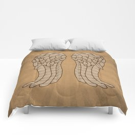 Daryl Wings Comforters