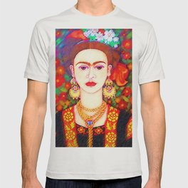 My other Frida Kahlo with butterflies T-shirt