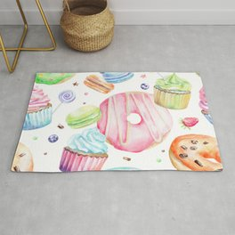 Sweets Pattern Rug