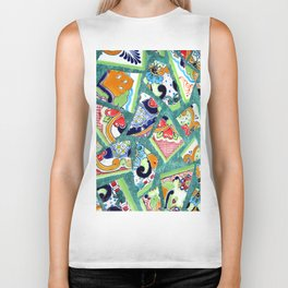 All the Colours of the Rainbow Biker Tank