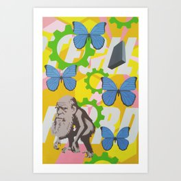 Untitled (Charles Darwin) Art Print