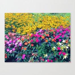 wawel royal garden Canvas Print