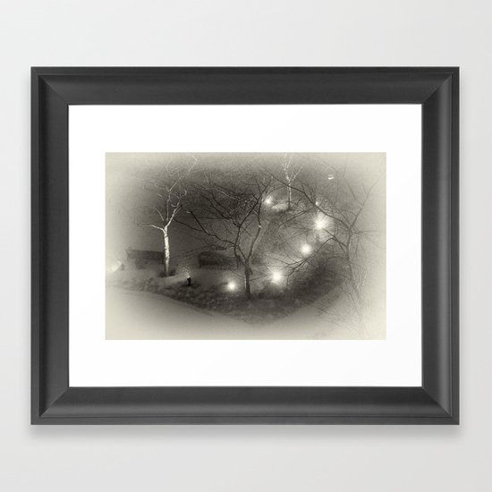 The Way They Live Now Framed Art Print