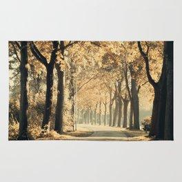 Autumn scenery #1 Rug
