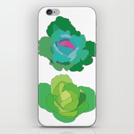 Cabbages iPhone Skin