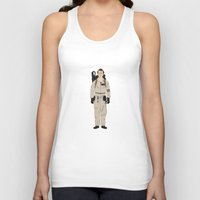 ghostbusters Tank Tops featuring Ghostbusters - Venkman by V.L4B