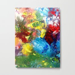 Abstract Palette #4 Metal Print