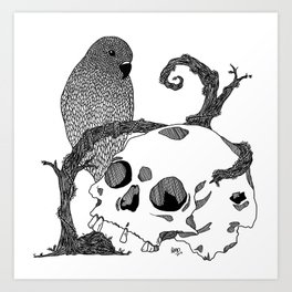 Death and Life I Art Print