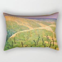 Felix Edouard Vallotton - The Bois De La Gruerie And The Ravine Des Meurissons Rectangular Pillow