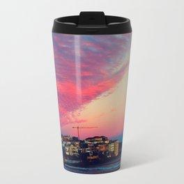 Bondi Beach Australia sunset Travel Mug