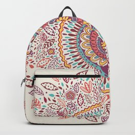 Sunflower Mandala Backpack
