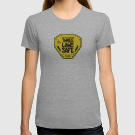 This Unit is THREE LAWS SAFE (Three Laws of Robotics) T-shirt