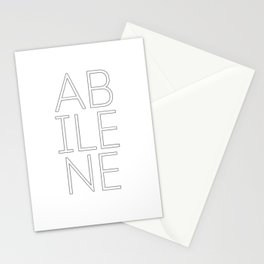 abilene Stationery Cards