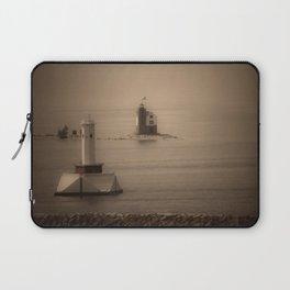 A Lighthouse & Beacon Laptop Sleeve