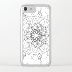 mandala - muse 6 Clear iPhone Case