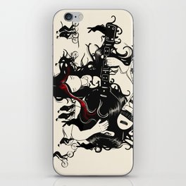Hare Guitar iPhone Skin
